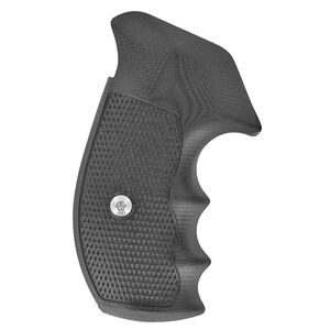 VZ Grips Tactical Diamond Grip Set For Smith&Wesson N-Frame Round Butt G-10 Black