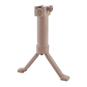 Grip Pod Systems AR-15 Vertical Forward Grip Quick Release LE Model Polymer Tan GPS-LET-CL