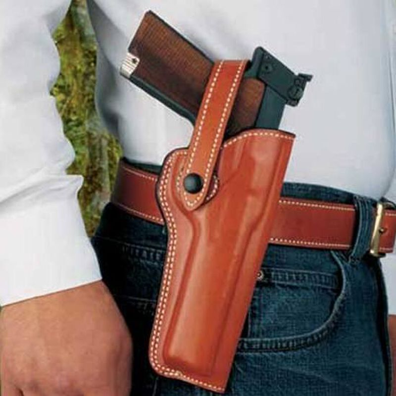 """DeSantis Gunhide """"The Woodsman"""" Browning Buckmark, Walther P22, S&W 41 with 5.5"""" Barrels Right Hand Leather Tan 097TCLAZ0"""