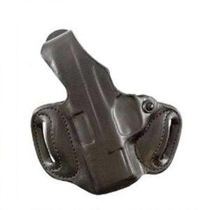 DeSantis Gunhide Thumb Break Mini Slide Kahr 9mm/.40 S&W OWB Belt Holster Left Hand Leather Tan 085BAK9Z0