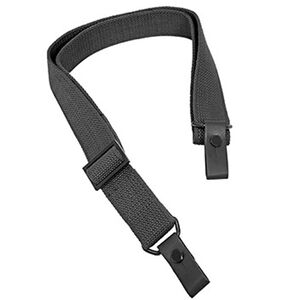 "NcSTAR AK/SKS OEM Style Replacement Sling Metal Hardware 42"" Canvas Black"