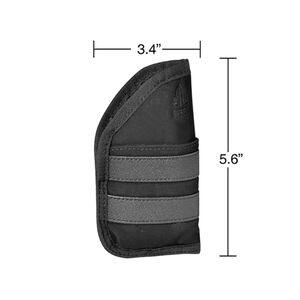 "UTG 3.4"" Ambidextrous Pocket Holster, Black"