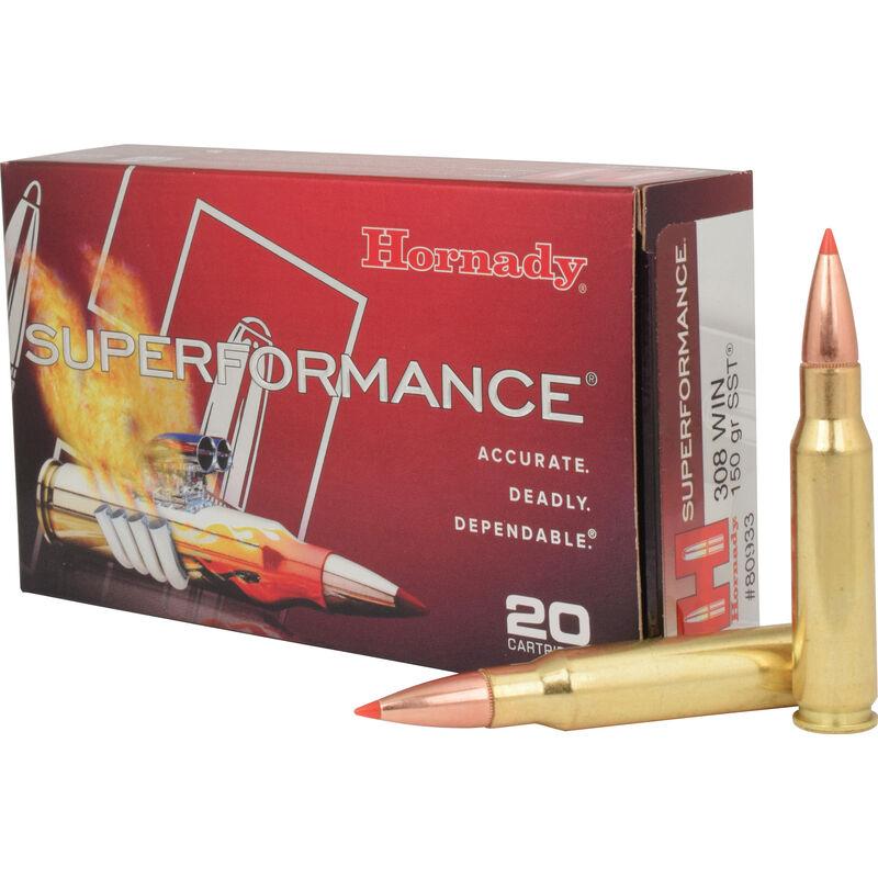 Hornady  308 Winchester Ammunition 20 Rounds SST HP 150 Grains