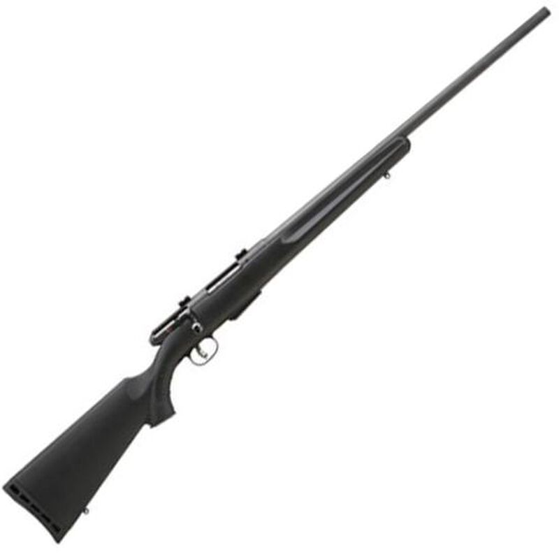 "Savage 25 Walking Varminter Bolt Action Rifle .22 Hornet 22"" Barrel 4 Rounds Synthetic Stock Black Finish 19153"