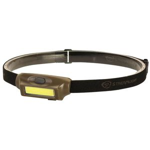 Streamlight Bandit Headlamp White/Green LED 180 Lumens Rechargeable Battery Polymer Coyote