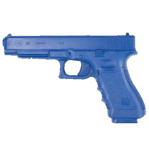 Rings Blue Training Guns GLOCK 34 Weighted Polymer Blue