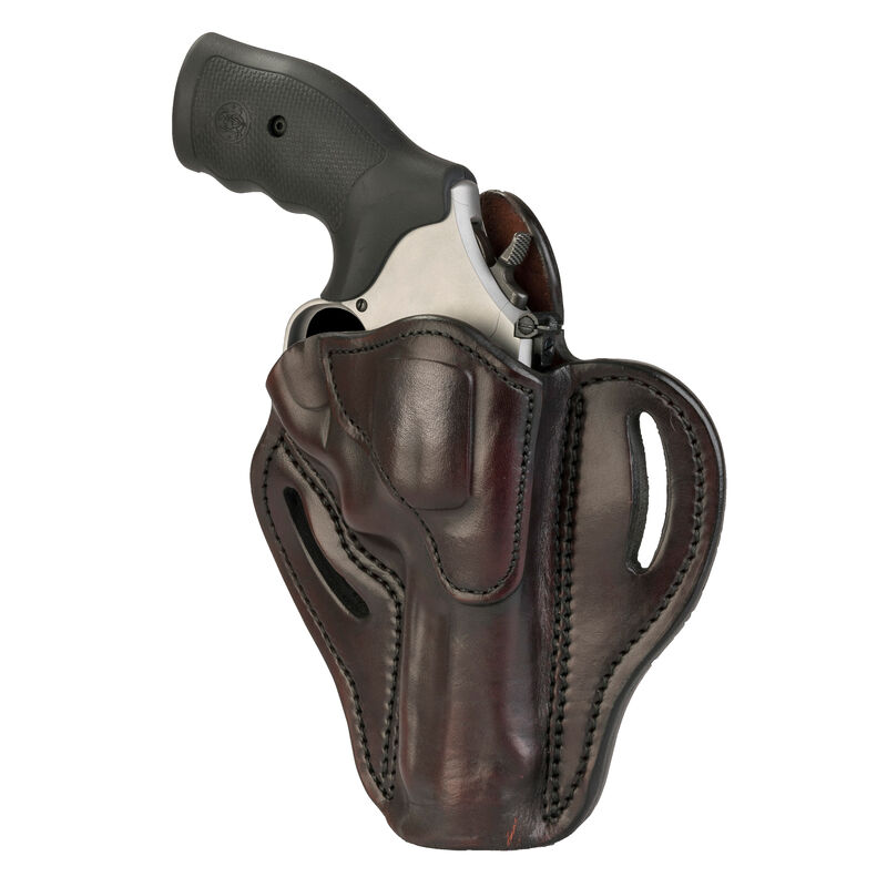 1791 Gunleather RVH-2 OWB Belt Holster for K/L Frame Revolvers Right Hand Draw Leather Signature Brown