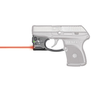 Viridian Reactor 5 Gen 2 Red Laser Sight with ECR Ruger LCP with Ambidextrous IWB Instant-On Holster Polymer Housing Matte Black Finish