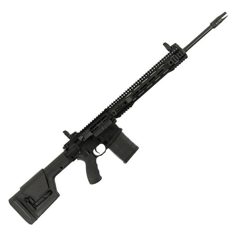 "Franklin Armory Militia Model Praefector-M AR Style Semi Auto Rifle 6mm Creedmoor 20"" Barrel 20 Rounds Free Float Hand Guard Magpul PRS Stock Matte Black Finish"