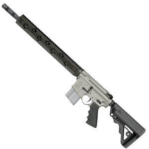 "Rock River Arms Light Predator2L .223 Wylde Semi Auto Rifle 16"" Lightweight Barrel Fred Eichler Carbon Fiber Free Float Hand Guard Carbine Stock Gun Metal Gray/Black"
