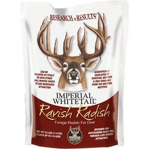 Whitetail Institute Ravish Radish Seeds  for Deer Food Plots 2.5lbs 1/4 Acre Treatment