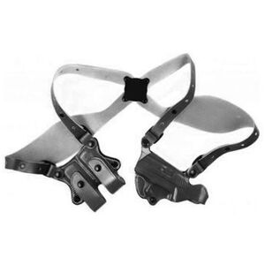 DeSantis New York Undercover Shoulder Holster S&W M&P Shield Right Hand Leather Black 11DBAX7E0