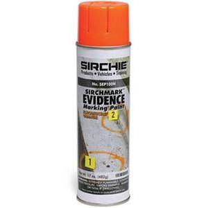 Sirchie Fluorescent SIRCHMARK Evidence Marking Paint Orange