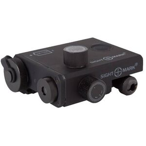 Sightmark LoPro Green Laser CR123A Battery Picatinny Mount Thermo Plastic Body Matte Black SM25001
