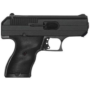 """Hi Point Semi Automatic Pistol 9mm Luger 3.5"""" Barrel 8 Rounds Polymer Frame Black Powder Coat Finish with Security Lock Box 916 HSP"""