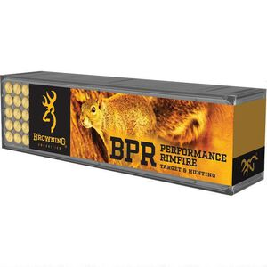 Browning .22 Winchester Magnum Ammunition 50 Rounds JHP