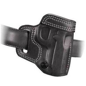 Galco Avenger GLOCK 26, 27 Belt Holster Leather Right Hand Black AV286B
