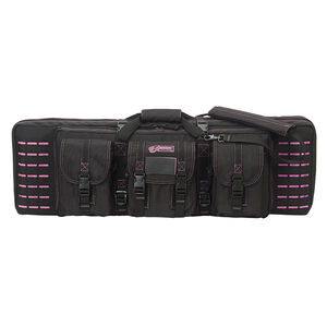 "Voodoo Tactical 36"" Padded Weapons Case Nylon Black/Purple"
