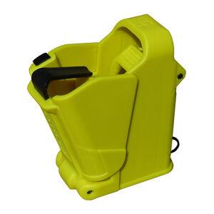 Maglula UpLULA Universal Pistol Magazine Loader 9mm/.357SIG/.40S&W/10mm/.45ACP Polymer Lemon Yellow