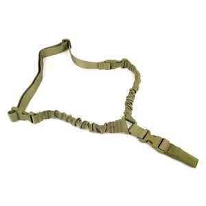 TacFire Single Point Double Bungee Rifle Sling Hk Style Tan SL002T