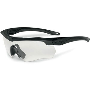 Eye Safety Systems Crossbow ONE Shooting Glasses Clear Lens Black Frame