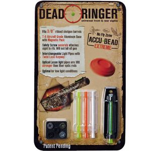 """Dead Ringer Accu-Bead Extreme 3/8"""" Front Bead Single Pack For Ribbed Shotguns DR4447"""