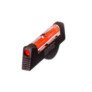 HiViz Red Fiber Optic S&W Revolver Front Sight Black SW1002R