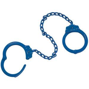 "Peerless Handcuff Company 15"" Leg Irons Blue 4743N"