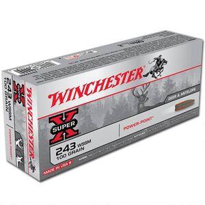 Winchester Super X .243 WSSM Ammunition 20 Rounds, PP, 100 Grains