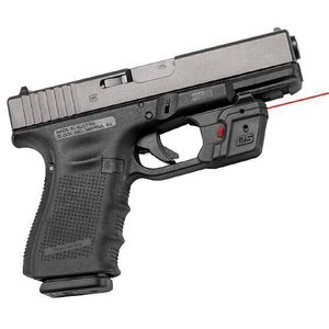 Crimson Trace Defender Series Accu-Guard GLOCK Fullsize and Compact Red Laser 2x 357 Silver Oxide Battery Polymer Body DS-121