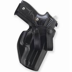 "Galco Summer Comfort 1911 4.25"" Inside Waistband Holster Right Hand Leather Black SUM266B"