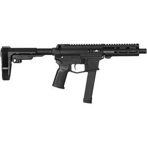 "Angstadt Arms UDP-9 9mm Luger AR Style Semi Auto Pistol 6"" Barrel 15 Rounds Uses GLOCK Style Magazines Free Float M-LOK Handguard SB-Tactical Pistol Brace Black"