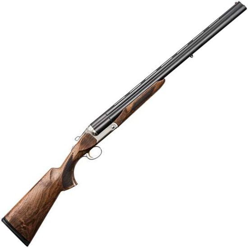 "Charles Daly Triple Crown 12 Gauge Triple Barrel Break Action Shotgun 28"" Barrels 3"" Chambers 3 Rounds Extractor Walnut Stock Matte Blued"