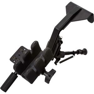 Kopfjäger Ambush Shooting Rest Kit Adjustable Includes Bipod Aluminum Black