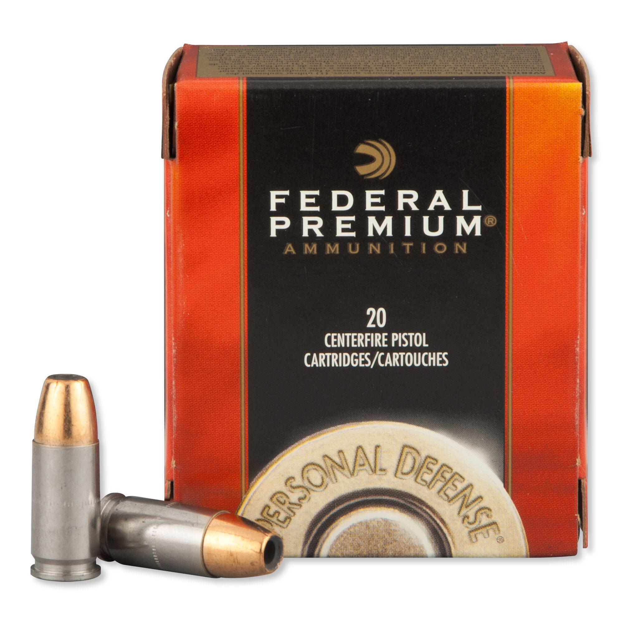 federal premium 9mm 147 grain hydra shok