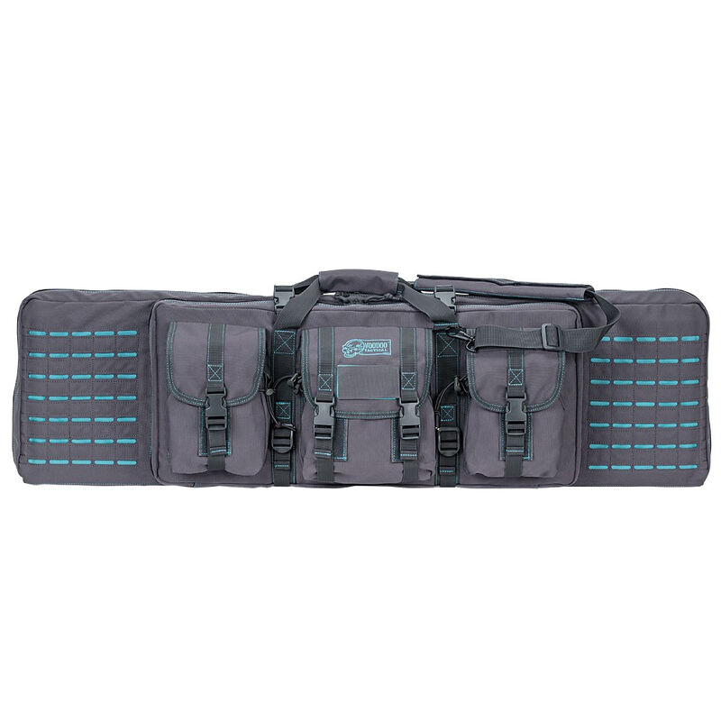 "Voodoo Tactical 42"" Padded Weapons Case Nylon Gray/Teal"