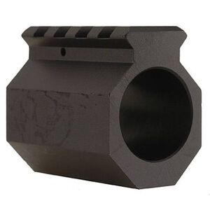 "DoubleStar AR-15 Picatinny Rail Gas Block .750"" Diameter Aluminum Black AR453"