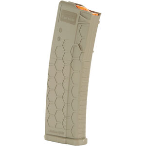 Hexmag Series 2 AR-15 10 Round Magazine/30 Round Body .223 Rem/5.56 NATO/.300 AAC Blackout PolyHex2 Advanced Composite Polymer Flat Dark Earth
