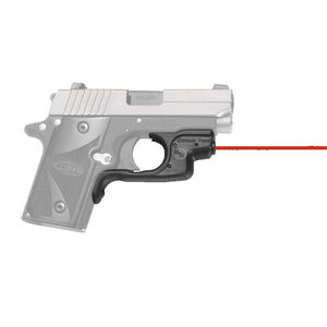 Crimson Trace LG-492 Red LaserGuard For SIG Sauer P238/P938 Front Activation Polymer Housing Matte Black