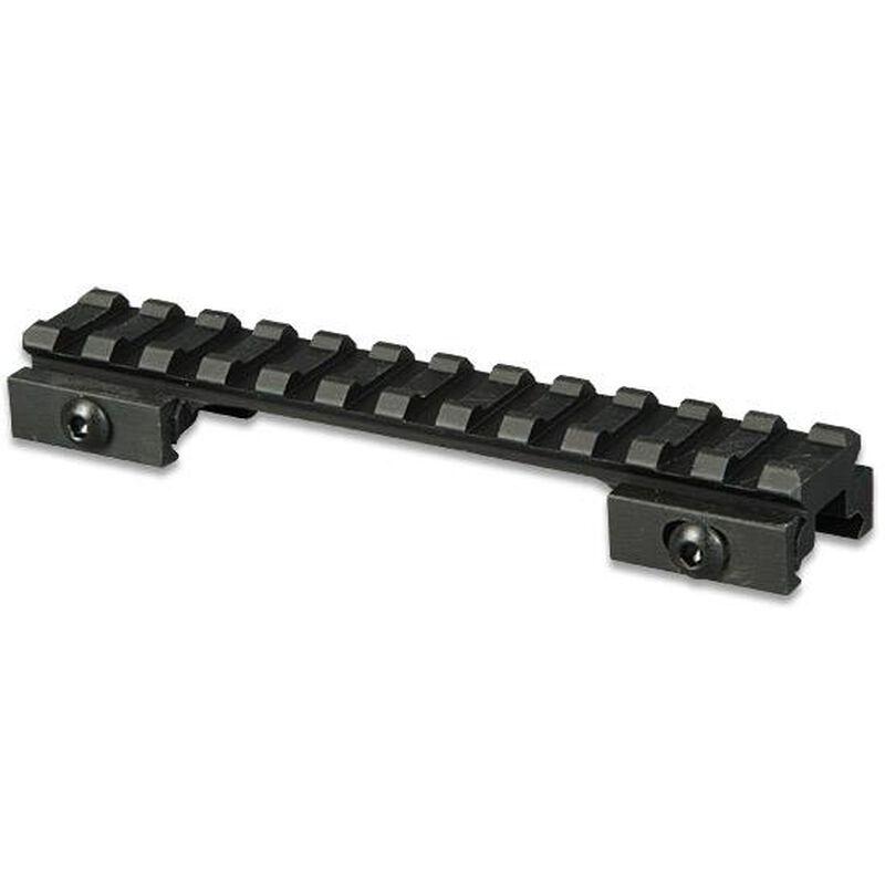 """Lion Gears AR-15 Tactical .5"""" Riser Mount 12 Slots 5"""" Long Aluminum Black BM1205"""