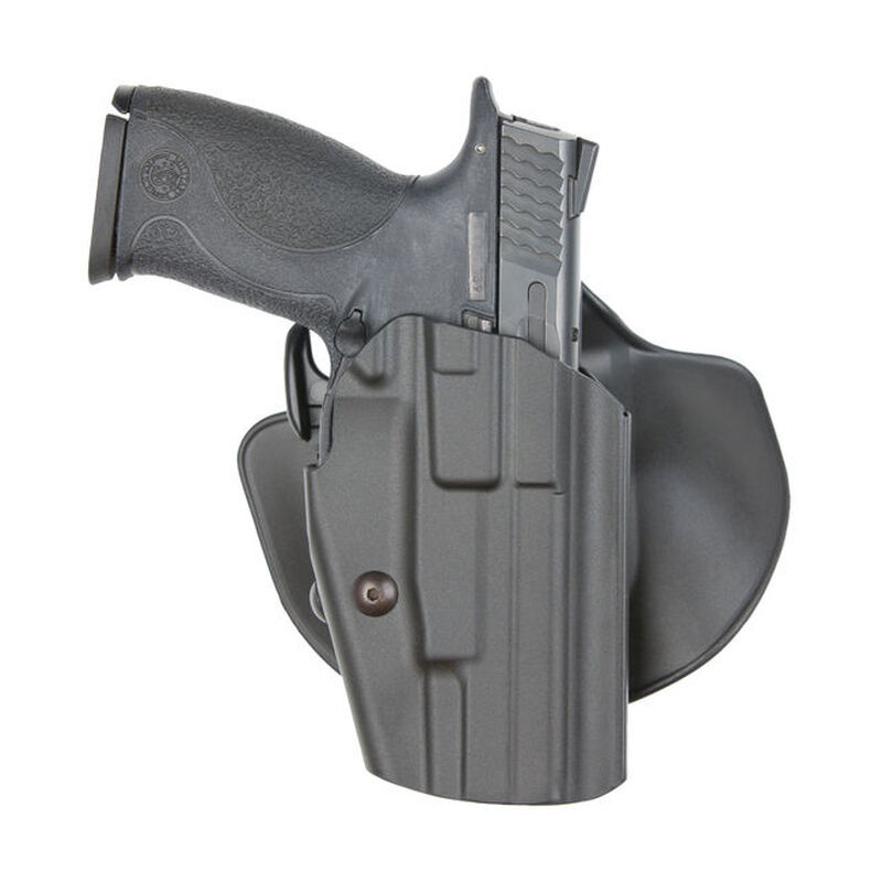 Safariland 578 GLS Pro-Fit Paddle Holster Multi Fit Right Hand Polymer Plain Black 578-283-411
