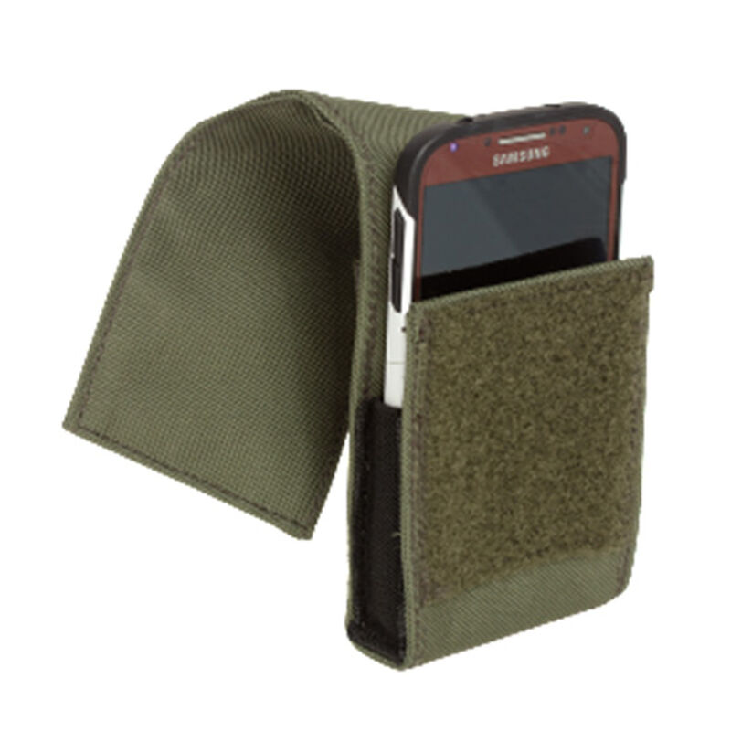 Voodoo Tactical Large Cell Phone MOLLE Pouch OD Green