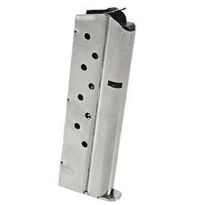 Ruger SR1911 Magazine 9mm Luger 9 Rounds Stainless Steel 90600