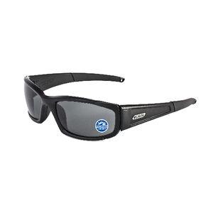 ESS CDI Sunglasses Polarized Black with Mirror Gray Lenses