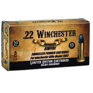Aguila .22 Winchester Ammunition 50 Rounds LRN