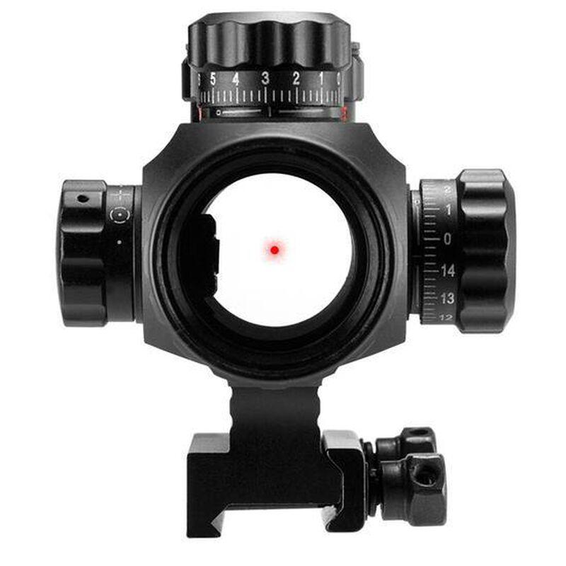 Barska 1X35 AR-X Tactical Reflex Sight Red/Green Multi Reticle Pictanny Mount Aluminum Black AC12176