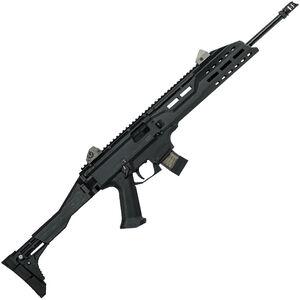 "CZ Scorpion EVO 3 S1 Carbine Semi Auto Rifle 9mm Luger 16.2"" Barrel 10 Rounds Collapsible/Folding Stock Polymer Frame Matte Black Finish"