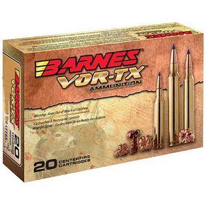 Barnes VOR-TX 7mm Remington Magnum Ammunition 20 Rounds 140 Grain TTSX BT Lead Free 3100 fps