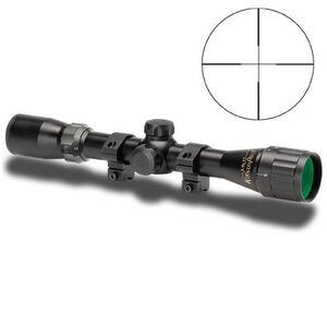 KONUSPRO 3-9x32mm Riflescope With AO And Rings - Enrgaved Reticle