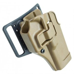 BLACKHAWK! SERPA CQC Holster for GLOCK 19, 23, 36 Paddle and Belt, Coyote Tan